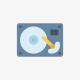 HDD, P/N 99-004176-005,DP/N 00099068 REV.A00,1.0GB,(172)