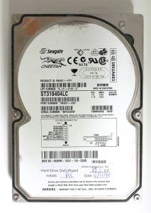 18.2GB SCSI HDD, SEAGATE CHEETAH ST318404LC, 9N9001-099, FW 0005, DP/N 092DFK