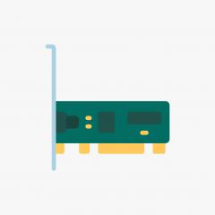 DELL 004CVF PCI SCSI CONTROLLER CARD, ULTRA2 LVD, ADAPTEC AHA-2940U2W, 1686906-19, FAB 1686907-00 REV.A