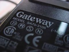 AC ADAPTER, GATEWAY SA70-3105 19V 3.68A, 6500175