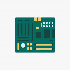 ADVANTECH SKT 478 MB , POD-340F-00A1 REV.A1, 19C6340F01,1GB RAM