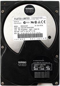 4.3GB HDD, FUJITSU MPB3043AT CA01630-B341000E